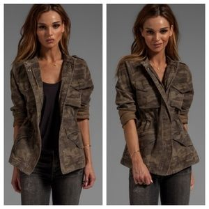 Sanctuary clothing camo jacket